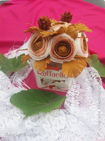 Хотите красиво подарить конфетки! это как вариант. Такие скромные , но надеюсь, приятные поздравления я сделала для наших учителей.  фото 7