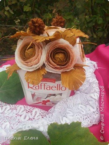 Хотите красиво подарить конфетки! это как вариант. Такие скромные , но надеюсь, приятные поздравления я сделала для наших учителей.  фото 9
