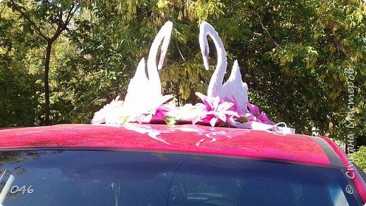 Украшение машин на свадьбу фото 3