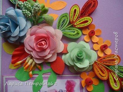 Доброе время суток  жители Страны Мастеров !!!  Прошел наш самый любимый праздник - День учителя !!! Для своих бывших коллег сделала небольшие подарочки -красивые упаковочки для конфет . И  оформила своим любимым квиллингом  и вот , что получилось  фото 6