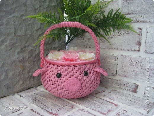 Поросята-копилки, свинка корзинка, любимые африканки, вазочки. фото 6