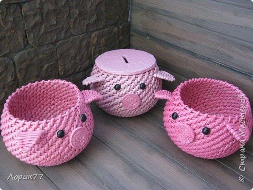 Поросята-копилки, свинка корзинка, любимые африканки, вазочки. фото 3