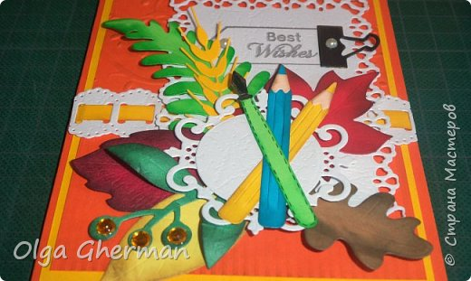 Здравствуйте, дорогие жители Страны Мастеров!  Вот , позади ещё один праздник и хлопоты, связанные с ним...  Наконец-то, появилось время поделиться с вами тем, что получилось сделать за это время... Какой же праздник без открыток ?!... Делала открытки и для своих детей ( в подарок учителям)  и на заказ.  В общем, вот что получилось у меня в этом году: фото 21