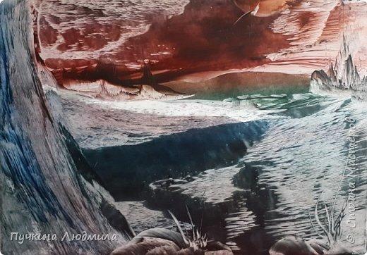 "Мои новые работы на морскую тематику.... ""ЗАКАТ в Океане"",ф.А.4 фото 2"
