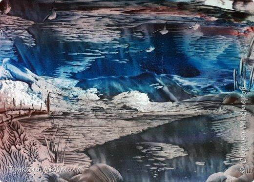 "Мои новые работы на морскую тематику.... ""ЗАКАТ в Океане"",ф.А.4 фото 7"