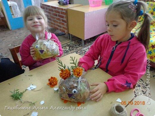 Детский мастер-класс поделки из природного материала «Сова» Представляем вашему вниманию поделки из осенних листьев, которые можно сделать легко и просто своими руками. фото 10