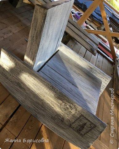Кресло-качалка своими руками фото 1