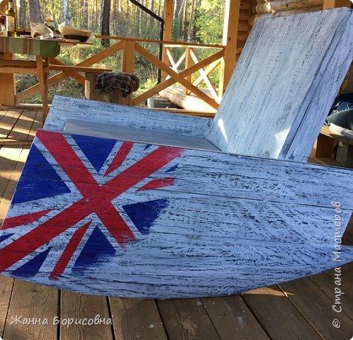 Кресло-качалка своими руками фото 3