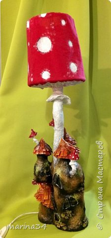 Привет всем жителям страны мастеров.Вот делюсь очередной вытворялкой.Меня накрыло,вдохновили походы за грибами. фото 2