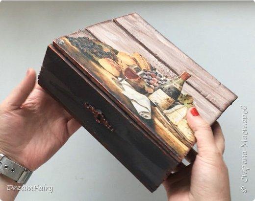 Чайная коробка из дерева своими руками