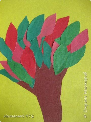 Деревце с листиками фото 2