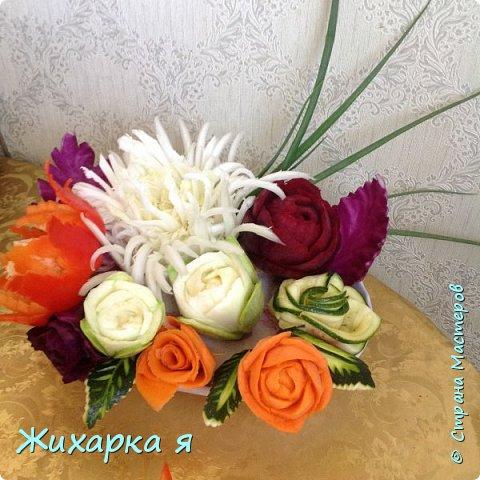 Осенний овощной букет   фото 1