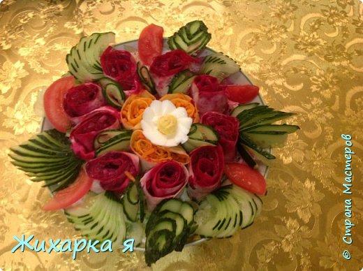 Осенний овощной букет   фото 5