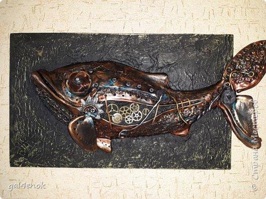 Должен был получиться кит, а вышла вот такая рыба...китодельфин... фото 1