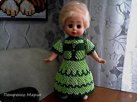 кукла после реставрации