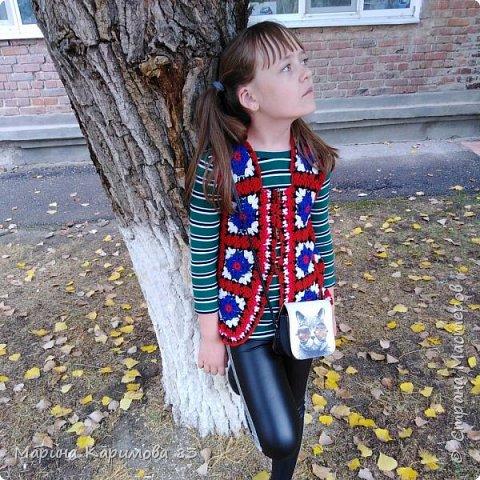 Давненько не заглядывала я сюда) Это лето было довольно плодотворным в плане вязания) Итак, юбочка из хлопка крючком, модная, удобная и легкая фото 8