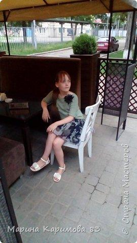 Давненько не заглядывала я сюда) Это лето было довольно плодотворным в плане вязания) Итак, юбочка из хлопка крючком, модная, удобная и легкая фото 3