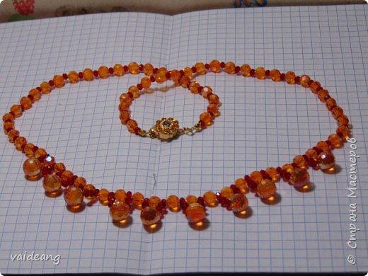 """""""Розовое чудо """". Ожерелье из разных сегментов ,6 разных деталей и магнитный замочек для удобства . фото 8"""