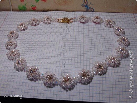"""""""Розовое чудо """". Ожерелье из разных сегментов ,6 разных деталей и магнитный замочек для удобства . фото 7"""