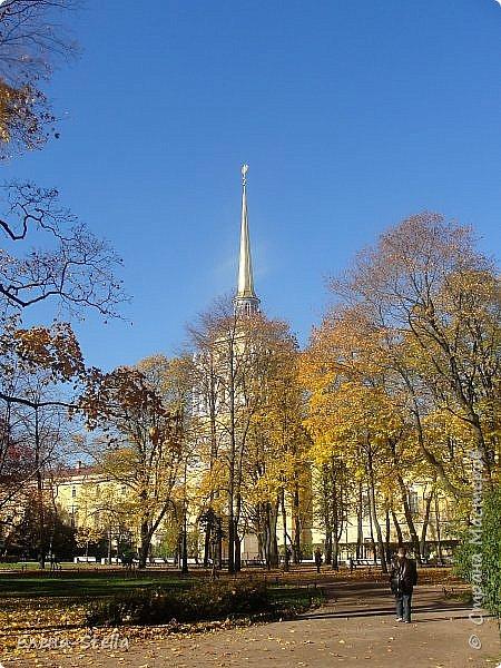 Друзья предлагаю прогуляться по Адмиралтейскому парку (Александровский) В парке много старых деревьев. Сегодня хорошая погодка. Солнце и тепло. Это только часть прогулки, остальное, если получиться в продолжении. Мозаика в вестебюле метро Адмиралтейская. фото 3