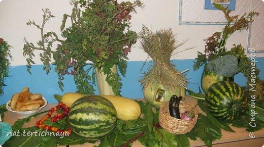 Здравствуйте!!! Ежегодно, в октябре, в нашей школе проводится  Праздник Золотой Осени. И дети с большим удовольствием принимают в нем участие. Готовят костюмы, сценки, поделки из природного материала. фото 3