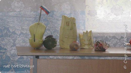 Здравствуйте!!! Ежегодно, в октябре, в нашей школе проводится  Праздник Золотой Осени. И дети с большим удовольствием принимают в нем участие. Готовят костюмы, сценки, поделки из природного материала. фото 6