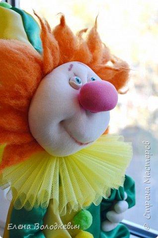 Клоун в чулочной технике  фото 2