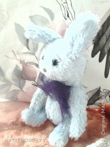 Плюшевый мишутка и зайчишка. фото 3
