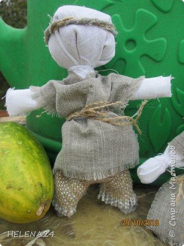 У наших мудрых предков куклы были на все случаи жизни .И замуж помогут выйти и болезнь отгонят и урожай сохранят. фото 13