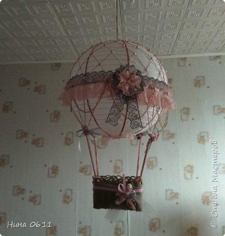Доброго времени суток, дорогие жители Страны мастеров. Каждый ребенок мечтает улететь на таком воздушном шаре в сказочную страну.  фото 5