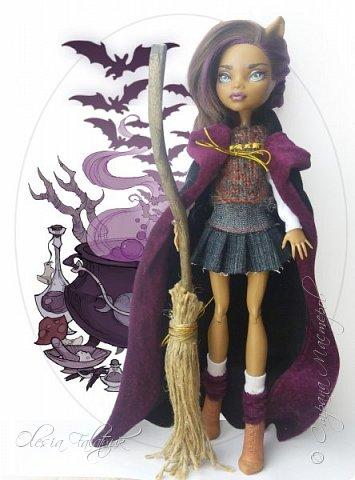 Участвую с этой куклой в конкурсе  ( одна из групп в ВК) фото 1