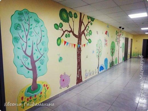 Роспись стен фото 22
