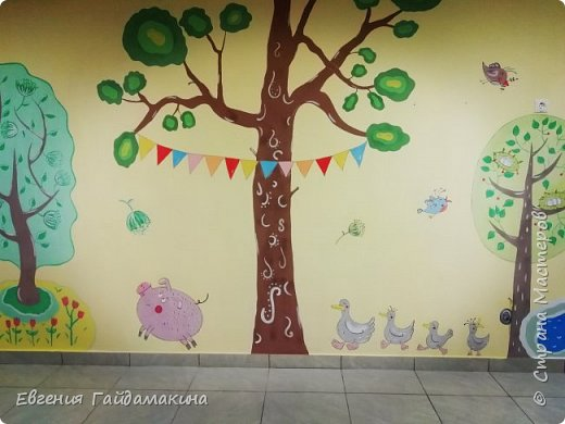 Роспись стен фото 21