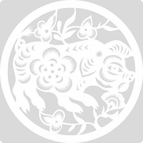 Наступающий 2019 - год Свиньи.  И, конечно, еще летом начались поиски шаблонов... Первым делом из своих запасов достала эту очаровательную  Хрюшку. Сделала шаблон и вырезала лапулю:) Потом еще делала шаблоны и много нашла их на просторах интернета...  Решила все сделанные и все найденные шаблоны поместить в сборник. Как делала это раньше... Год СОБАКИ (сборник шаблонов) https://stranamasterov.ru/node/1123859 Год ОБЕЗЬЯНЫ (сборник шаблонов) https://stranamasterov.ru/node/970958 фото 20