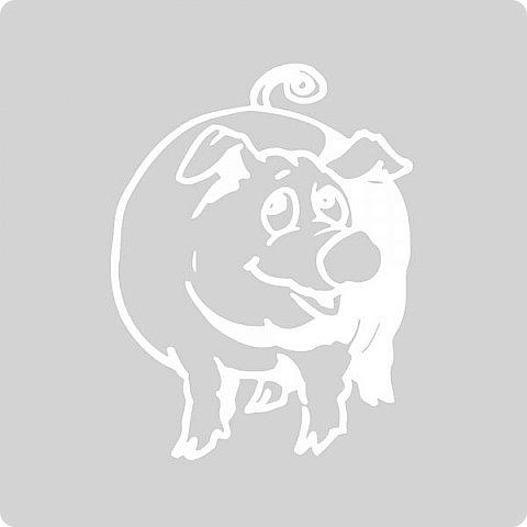 Наступающий 2019 - год Свиньи.  И, конечно, еще летом начались поиски шаблонов... Первым делом из своих запасов достала эту очаровательную  Хрюшку. Сделала шаблон и вырезала лапулю:) Потом еще делала шаблоны и много нашла их на просторах интернета...  Решила все сделанные и все найденные шаблоны поместить в сборник. Как делала это раньше... Год СОБАКИ (сборник шаблонов) https://stranamasterov.ru/node/1123859 Год ОБЕЗЬЯНЫ (сборник шаблонов) https://stranamasterov.ru/node/970958 фото 44