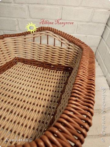 Всем привет! Последовали заказы на плетение корзинки для фруктов и приправницы.  фото 3