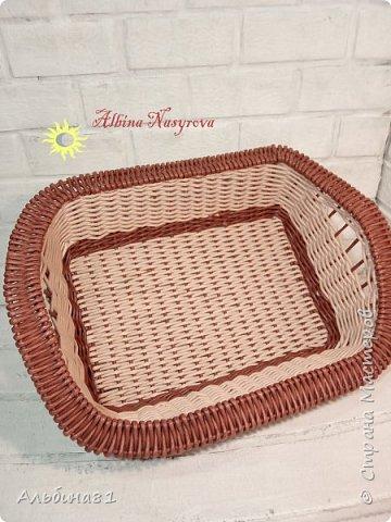 Всем привет! Последовали заказы на плетение корзинки для фруктов и приправницы.  фото 2