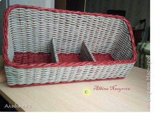Всем привет! Последовали заказы на плетение корзинки для фруктов и приправницы.  фото 8
