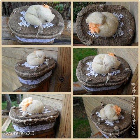 """Шкатулка """" Кошки-мышки"""" фото 5"""