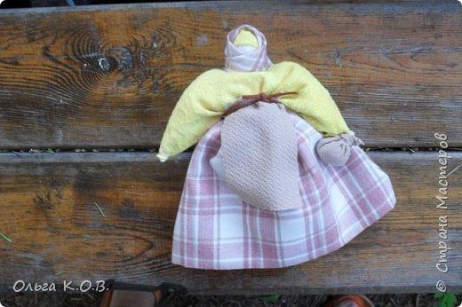 Моя первая берегиня дома - говорят первую куклу нельзя никуда отдавать. Она у меня в доме так и осталась фото 1