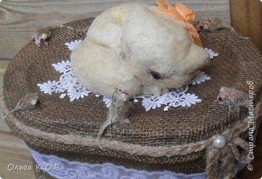 """Шкатулка """" Кошки-мышки"""" фото 3"""