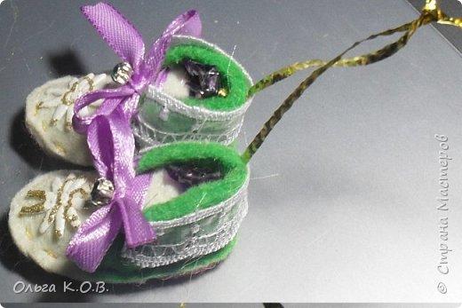 МИНИ- Обувь,варежки на елку фото 42