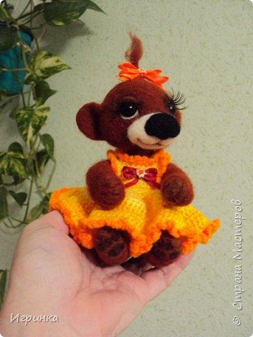 Здравствуйте друзья! Представляю Вам своих новых друзей - мишутку Ксюшеньку и обезьянку (с именем пока не определилась).  фото 10
