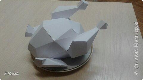 Мое новое увлечение.  Полигональное моделирование из бумаги. Подготовка к новому году фото 2