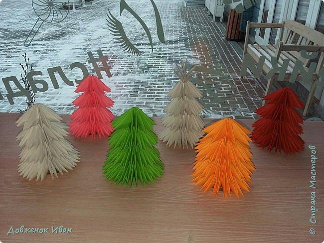Добрый день жители Страны Мастеров. В преддверие нового года, сделал интерьерные ёлочки . фото 1