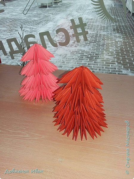 Добрый день жители Страны Мастеров. В преддверие нового года, сделал интерьерные ёлочки . фото 6