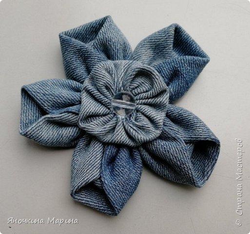 Создаем тканевый цветок