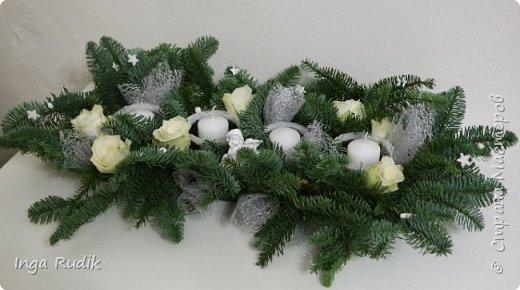 Рождественская флористика фото 5