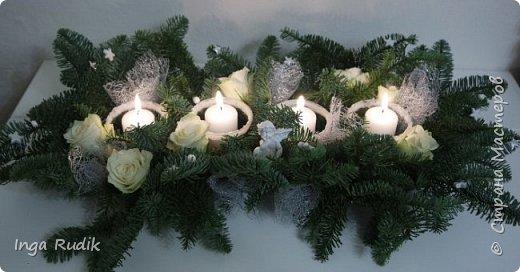 Рождественская флористика фото 6