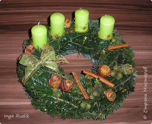 Рождественская флористика фото 3